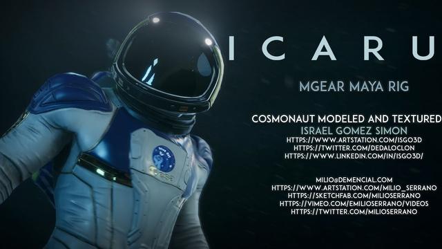 Icarus, Cosmonaut