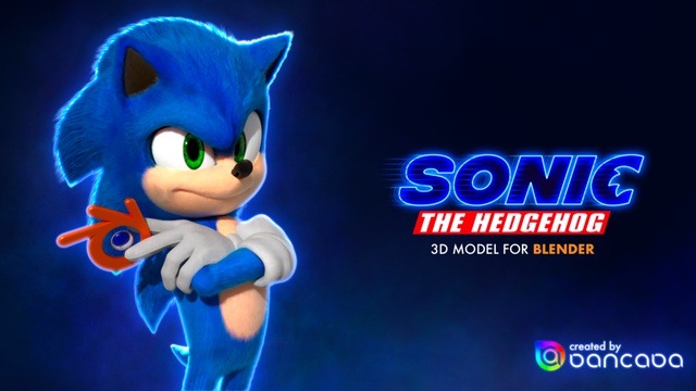 Sonic the Hedgehog (film design)