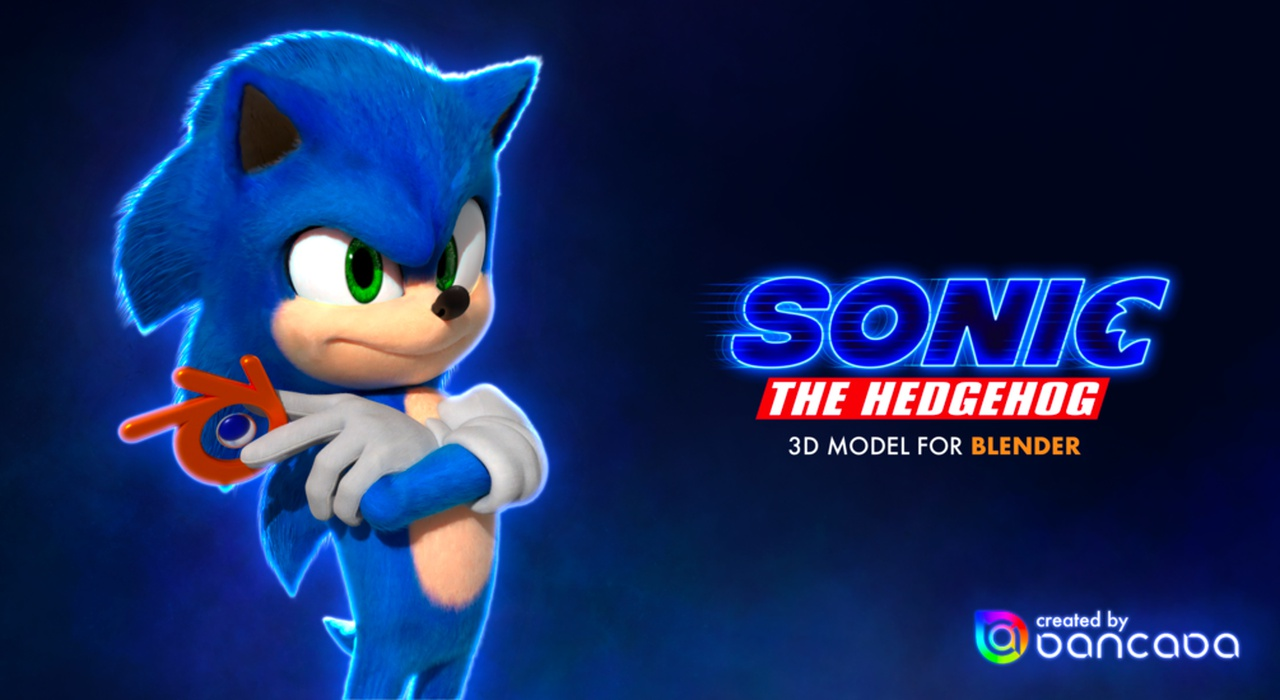 Sonic the Hedgehog (film design)