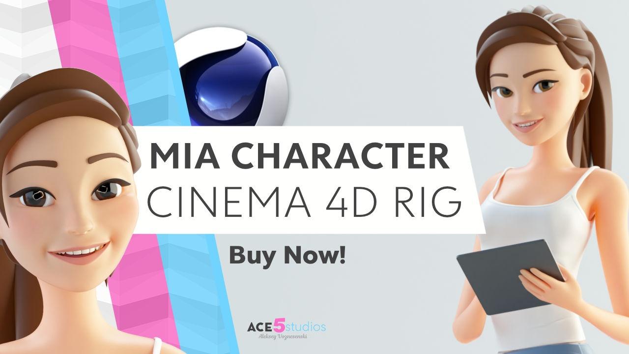 Mia - C4D