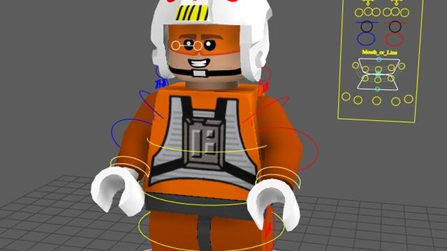 Lego Mini Figure Rig